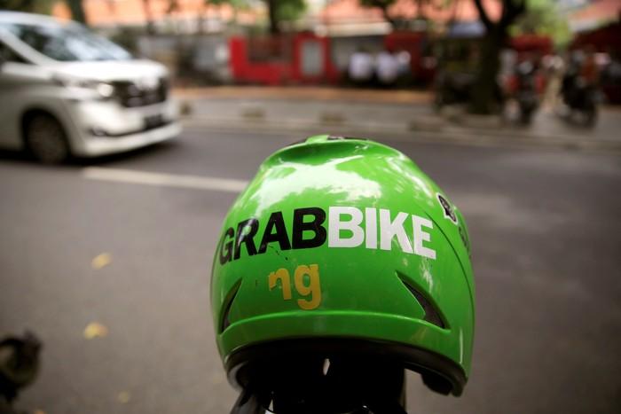 Ilustrasi Grab Bike. Foto: Dok. Reuters/Beawiharta