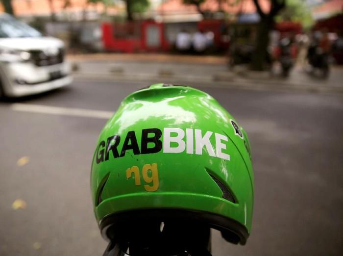 Ilustrasi GrabBike. Foto: Dok. REUTERS/Beawiharta
