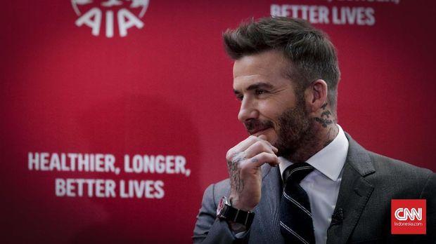 David Beckham pernah terlibat cekcok dengan Diego Simeone.