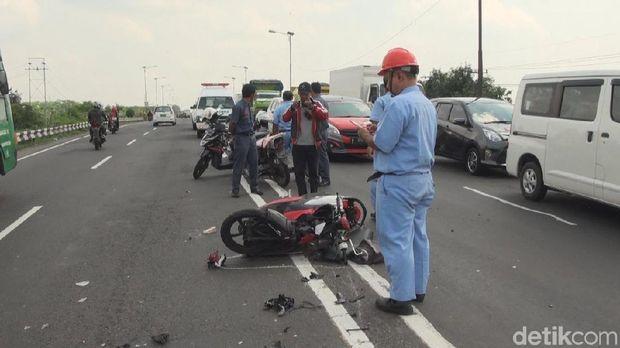 Pengemudi motor tewas di lokasi setelah menabrak pikap