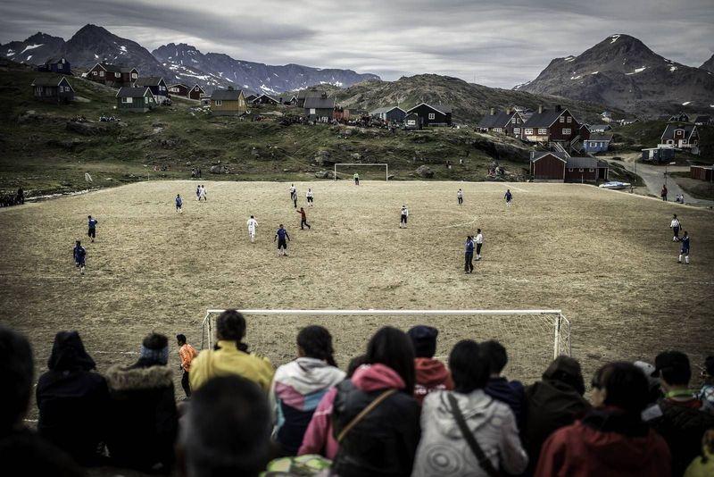 Stadion Tasiilaq berada di Tasiilaq, suatu kota di bagian timur di negara Greenland. Disebut, sebagai salah satu stadion sepakbola terindah di Bumi (Visit Greenland)