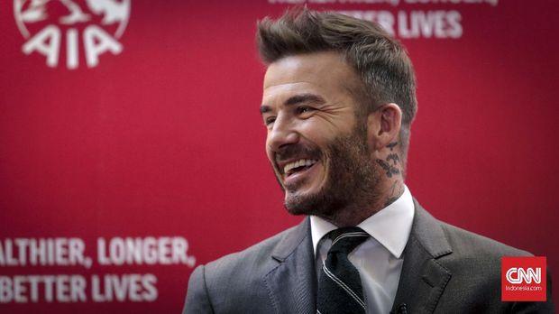 David Beckham kedapatan melanggar aturan berkendara.