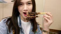 Begini Gaya Makan Si Cantik Melody, Mantan Personel JKT 48