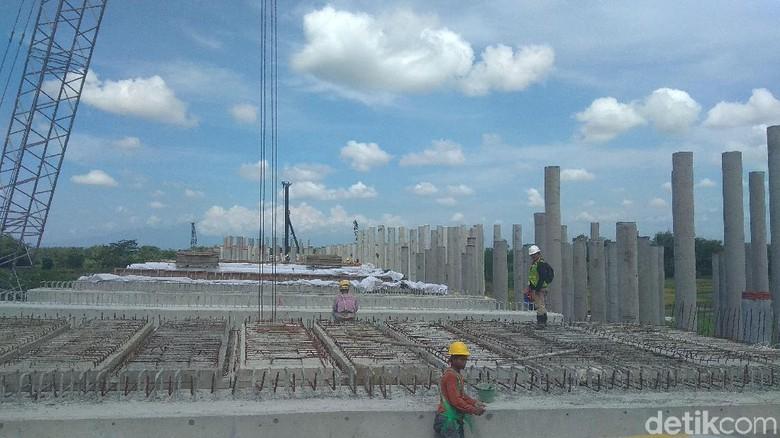 Jembatan Kunto Tol Jombang Diharap Bisa Dilewati Arus Mudik 2018