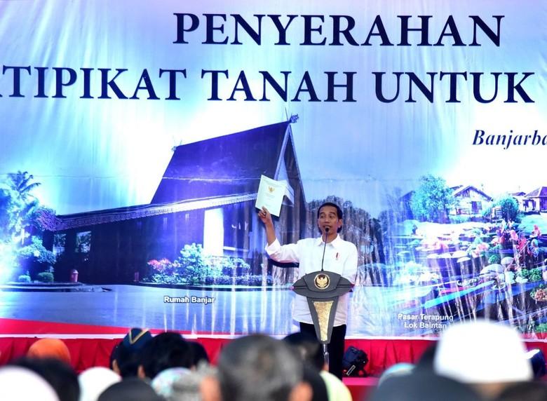 Jokowi: Ketimpangan Lahan Memang Ada, tapi Bukan Saya yang Lakukan