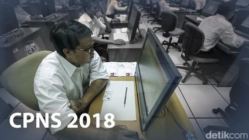 Seleksi CPNS 2018 Mau Dibuka