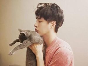 Kenangan Minwoo 100%, Si Tampan Penyayang Kucing