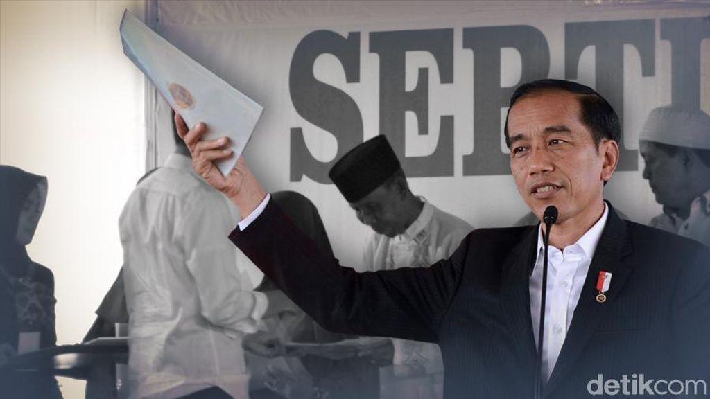 BPN Pastikan Sertifikat Tanah Program Jokowi Bisa Sekolah ke Bank