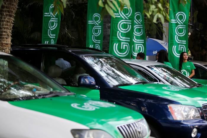 Taksi Grab. Foto: Reuters