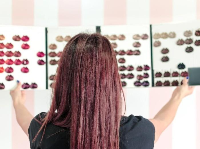 Ilustrasi cat rambut. Foto: Thinkstock