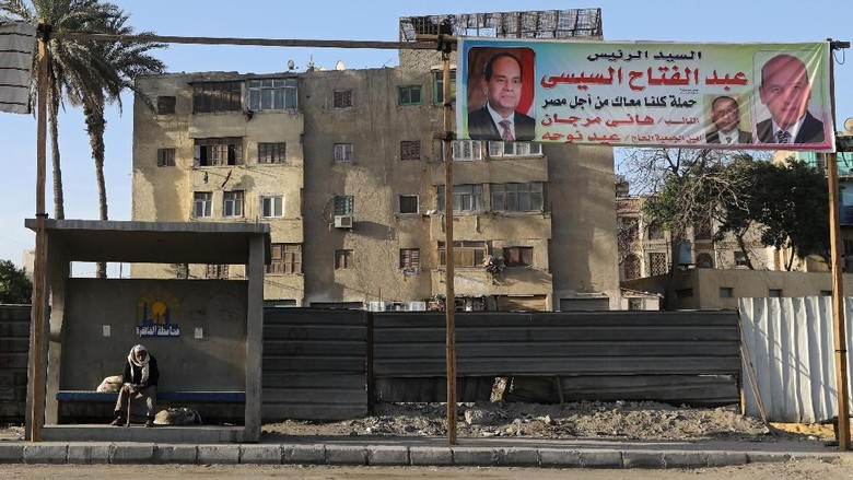 Mesir Gelar Pilpres, Pilihannya Cuma Al-Sisi Atau 1 Penantang