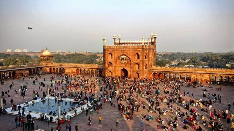 Masjid Jama di Delhi, India (Reuters)