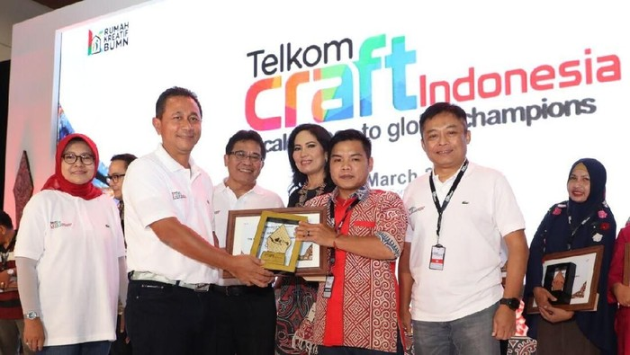 Telkom Craft Indonesia 2018 resmi ditutup dengan nilai transaksi Rp 20,1 miliar (dok.Telkom)