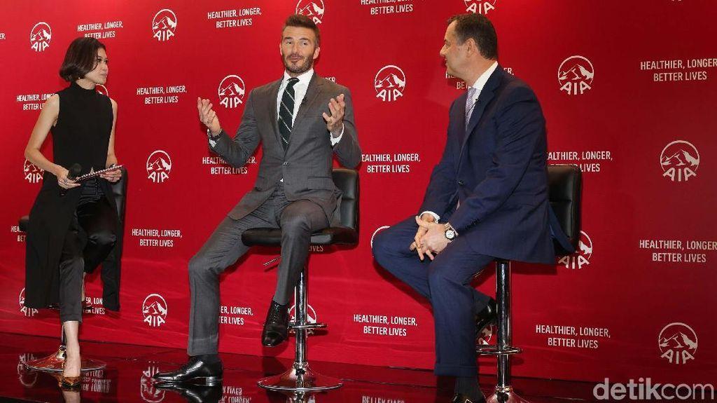 Hidup Sehat ala David Beckham di Mata Iko Uwais