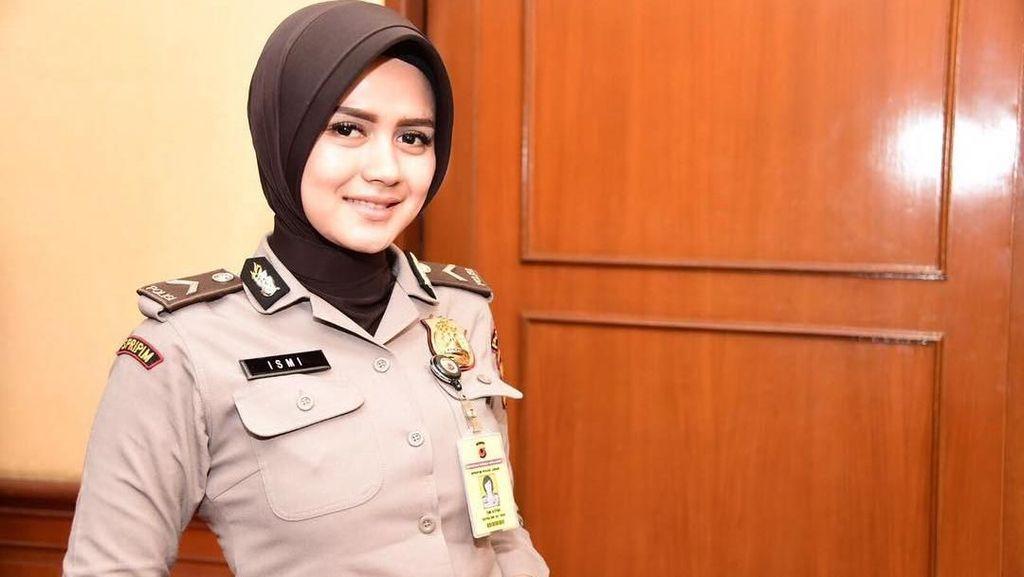 Adem, Ini Gaya Hijab Bripda Ismi yang Viral karena Kecantikannya