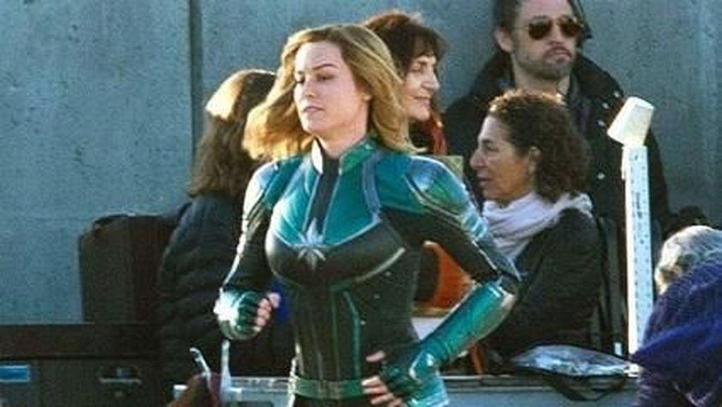 Perankan Captain Marvel, Begini Latihan Fisik Si Cantik Brie Larson