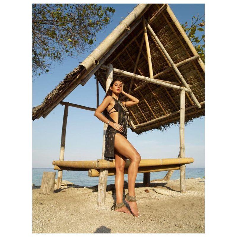 Tidak hanya disibukan dengan akting dan pemotretan majalah, Katrina Raif juga sering jalan-jalan. (katrinakaif/Instagram)