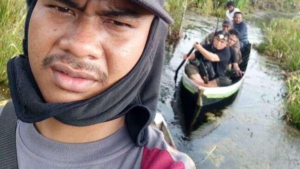 Ditongkrongin Bonita, 7 Orang Baru Turun Pohon Usai Tim Datang