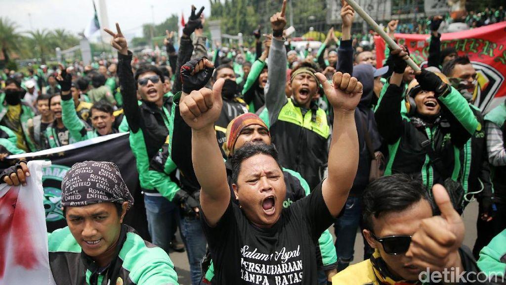 Menkominfo Tanggapi Aksi Demo 2 Juta Driver Ojol di Asian Games
