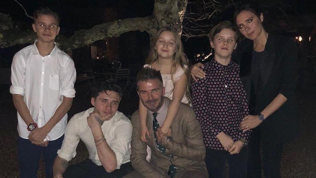 Cerita Beckham tentang Hobi Anak-anaknya