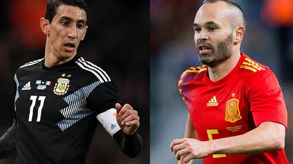 Jadwal Big Match Internasional: Spanyol vs Argentina, Inggris vs Italia