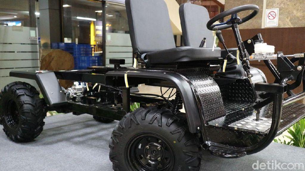 Pakai Komponen Lokal, Mobil Ndeso; Bisa Dijual Rp 60 Juta