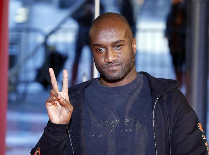 PARIS, FRANCE - MARCH 01:  Fashion designer Virgil Abloh walks the runway during the Off-White show as part of the Paris Fashion Week Womenswear Fall/Winter 2018/2019 on March 1, 2018 in Paris, France.  (Photo by Francois Durand/Getty Images)