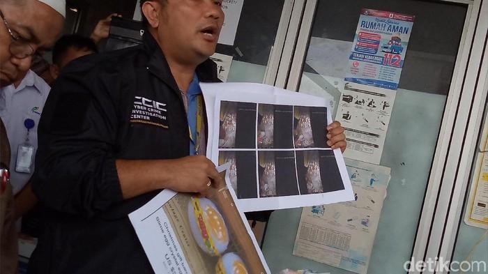 Kasubdit II Dittipid Siber Bareskrim Polri Kombes Asep Safrudin mengatakan pihaknya tengah mencari penyebar video telur palsu. (Denita Br Matondang/detikcom)