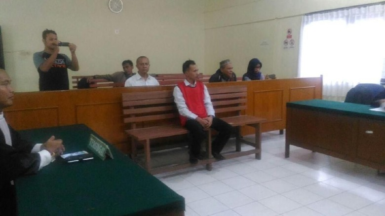 Jasriadi Bos Saracen Divonis 10 Bulan Penjara