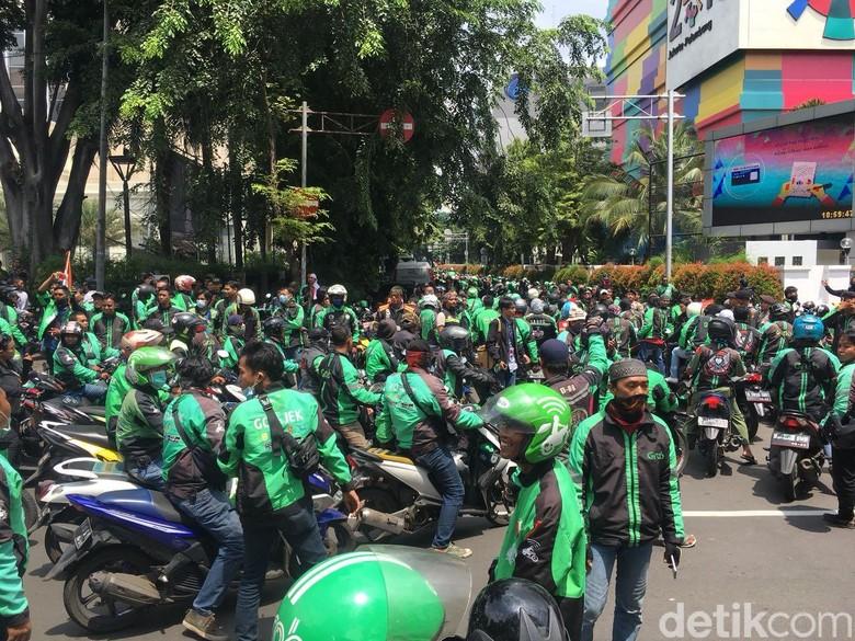 Ojek online. Foto: Indra Komara/detikcom