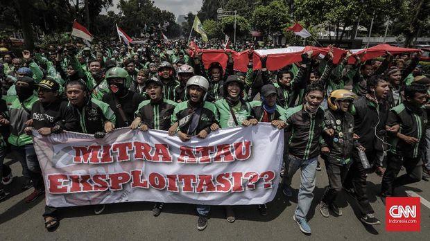'Rayuan' Gagal Ojek Online untuk Jokowi