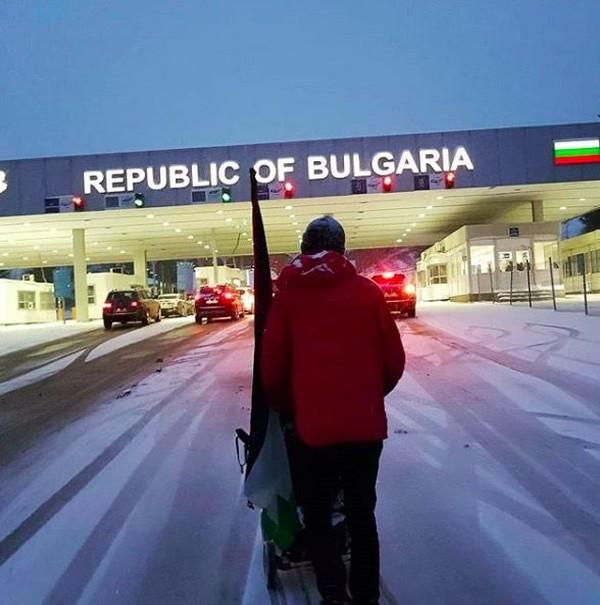 Ia juga pernah singgah di Plovdiv, Bulgaria (walktopalestine/Instagram)