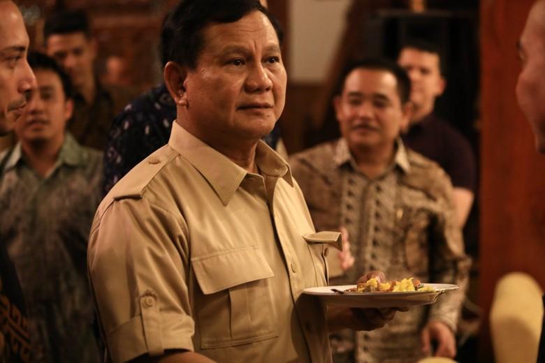 Prabowo: Selamat Harkitnas, Jangan Pilih Pemimpin Karena Sembako