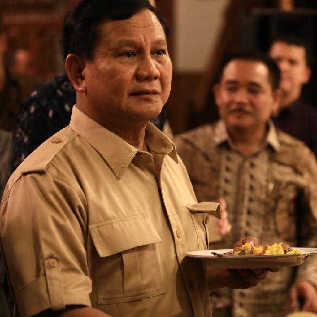 Prabowo Irit Bicara Capres, Gerindra: Itu Ketenangan Beliau