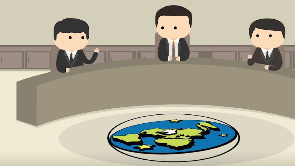 Inggris Menggelar Konvensi Bumi Datar Pertama