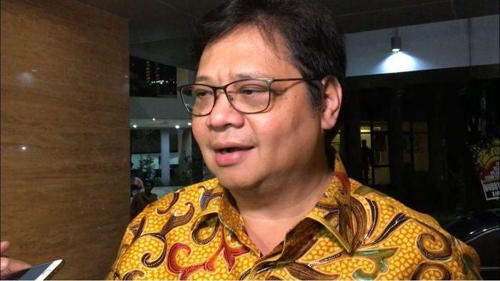 Foto: Menteri Perindustrian Airlangga Hartarto. (Parastiti/detikcom)