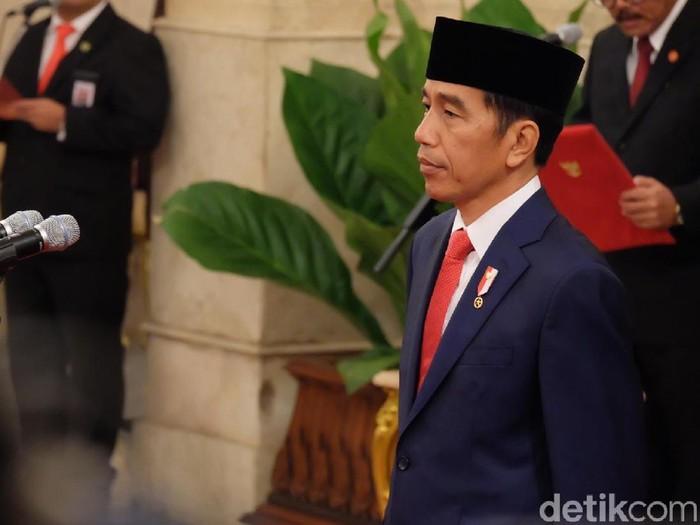 Pengambilan sumpah jabatan Arief Hidayat kembali jadi hakim MK