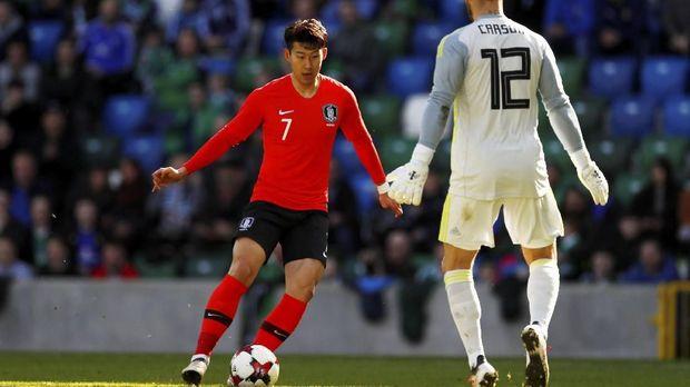 Son Heung-Min dapat menjadi roh permainan Korea Selatan di Piala Dunia 2018.