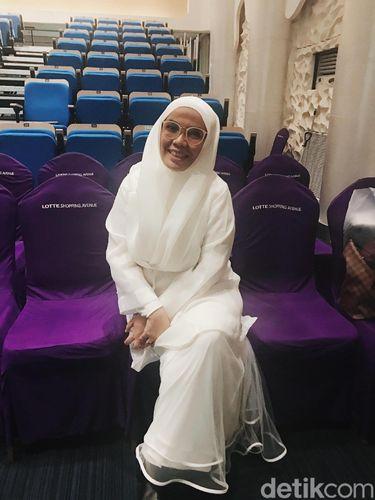 Desainer busana muslim Irna Mutiara.