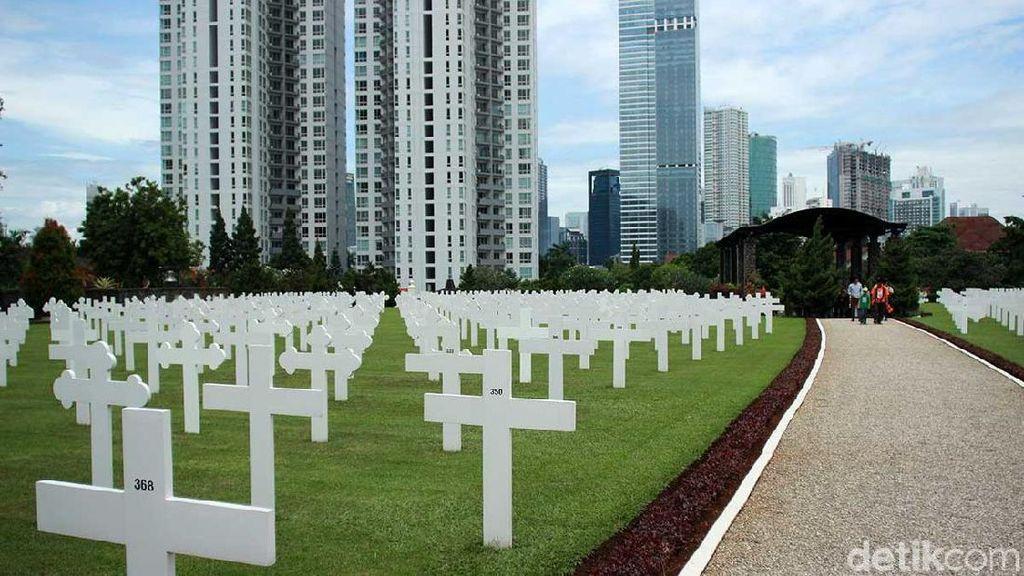 Mengenal Makam Kehormatan Belanda di Menteng Pulo