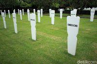 Makam para pejuang KNIL yang tidak diketahui identitasnya dengan pasti (Randy/detikTravel)