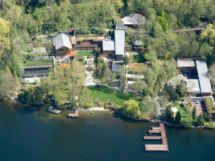 Rumah Bill Gates di Medina. Foto: Istimewa/Businessinsider.sg