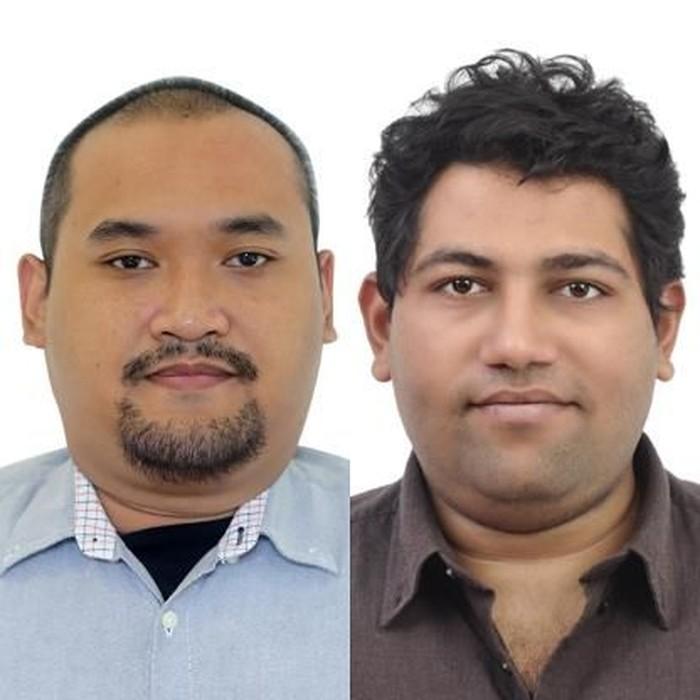 Marshall Utoyo dan Krishnan Menon. Foto: Istimewa