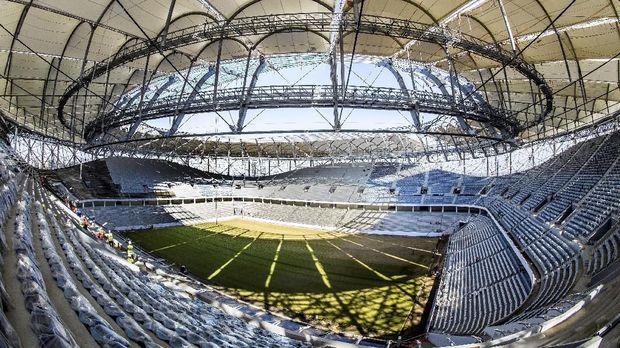 Timnas Inggris bakal tampil pada laga pembuka melawan Tunisia di Stadion Volgograd Arena. (