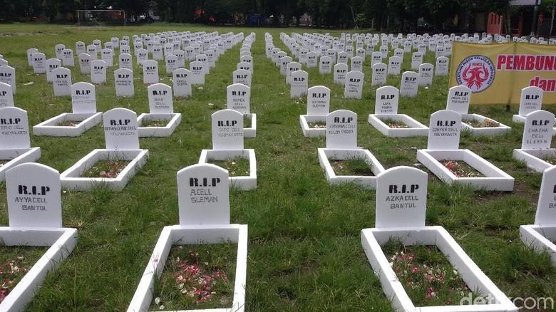 Korban Pembunuhan Massal Dikubur di Lapangan Karang Yogyakarta