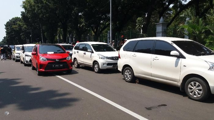 Ilustrasi Taksi Online/Foto: Arief/detikcom