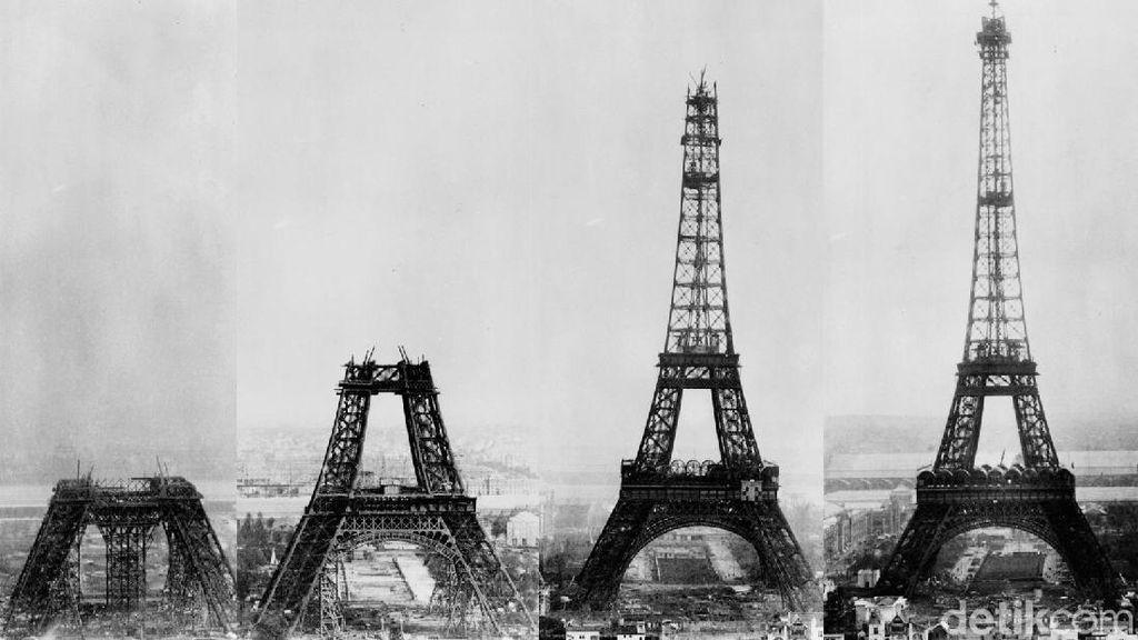 Melihat Proses Pembangunan Menara Eiffel