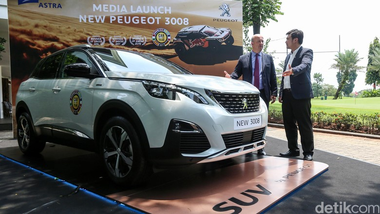 Peugeot 3008 meluncur di Indonesia. Foto: Ari Saputra