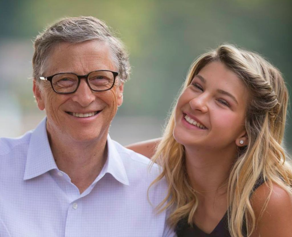 misteri anak cantik bill gates yang tak suka pamer. Black Bedroom Furniture Sets. Home Design Ideas