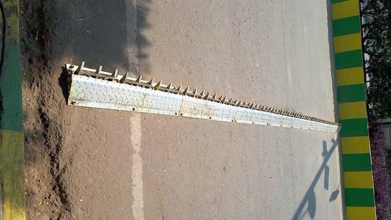 Tyre killer di jalanan Pune India (Foto: Rushlane)